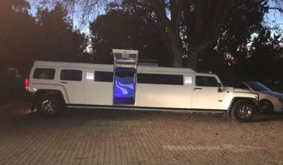 Wing Door Hummer Limo rental