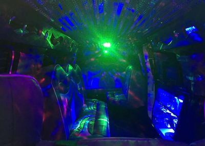 Hummer Lights Inside
