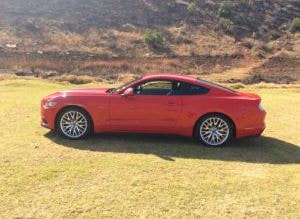 Mustang matric dance  car hire